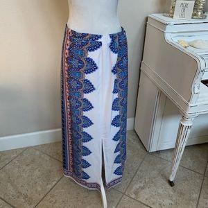 Cato Boho Maxi Skirt Size Large